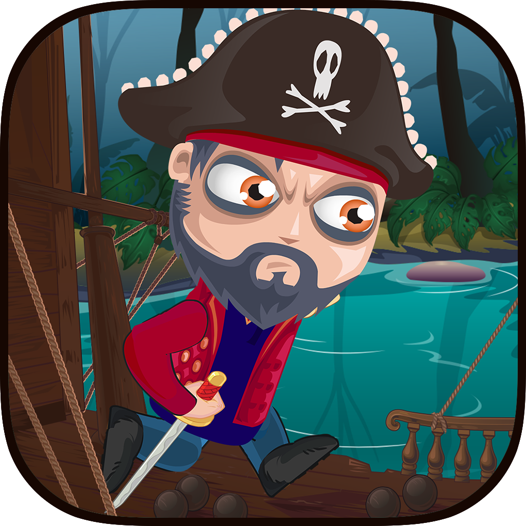 Tap Pirate Jump: Paradise Legends